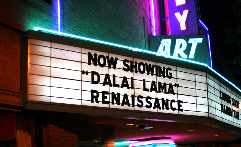 The Dalai Lama Renaissance Film is coming to San Francisco to begin a 4 month International Tour