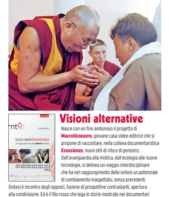 "Italian Magazine ""FilmTV"" review of the Dalai Lama Renaissance Documentary Film"