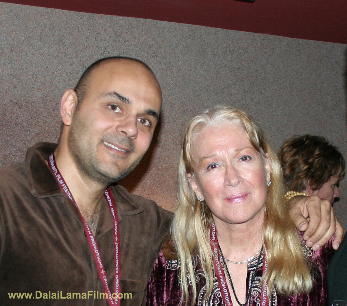 Oscar-nominated actress Diane Ladd and 'Dalai Lama Awakening' Film Director Khashyar Darvich