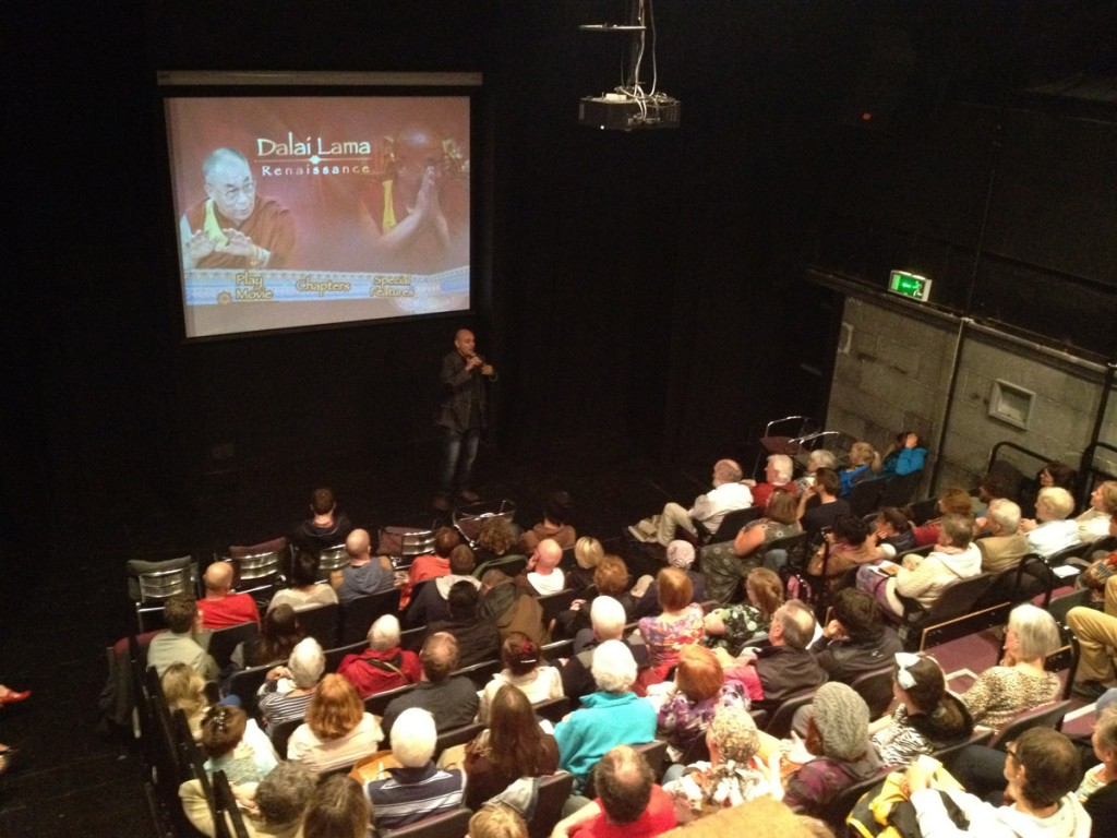 Darvich's screening and Q&A in Findhorn, Scotland, attracted the higher audience turn-out  for a film screening in the 50-year history of the prestigious Scottish community.