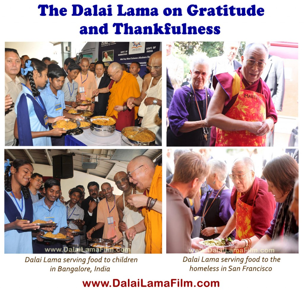 10 Quotes by the Dalai Lama on Gratitude and Thankfulness