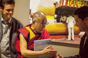Jim Carrey and The Dalai Lama