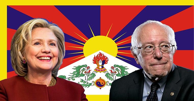 Clinton Sanders View Tibet