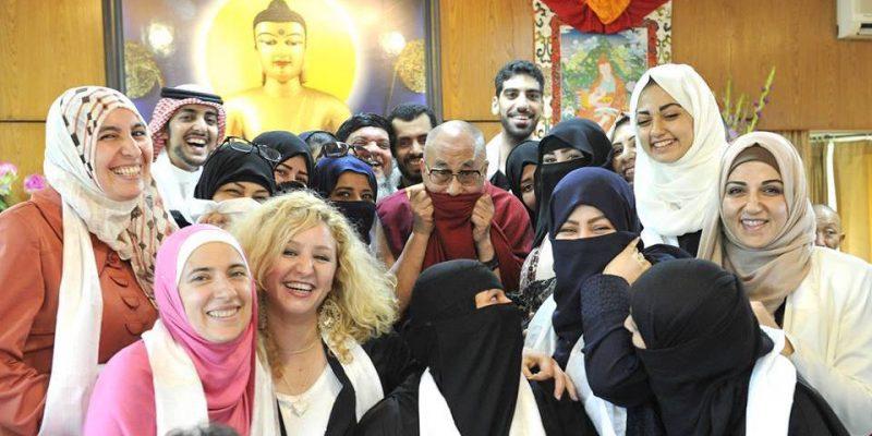 Dalai Lama with Muslims Featured Image