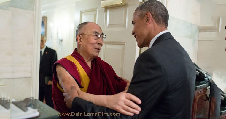 President Baraka Obama with Dalai Lama - 2016-06-15