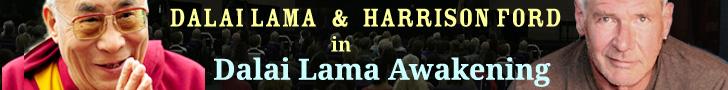 1 - Dalai Lama Harrison Ford Dalai Lama Awakening