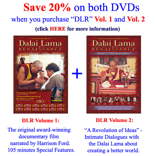 Special Discount: Dalai                                         Lama Renaissance Vol 1 and 2