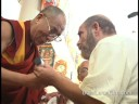Gary Warhaftig meeting the Dalai Lama