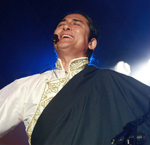 Renown Tibetan musician Techung