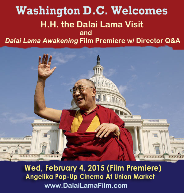 Poster - Washington D.C. Welcomes Dalai Lama and Dalai Lama Film Premiere