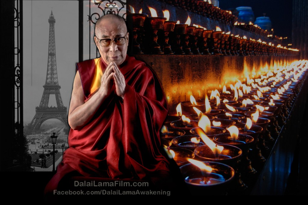 Tibetan Buddhist leader H.H. the Dalai Lama responds to the terror attacks on Paris