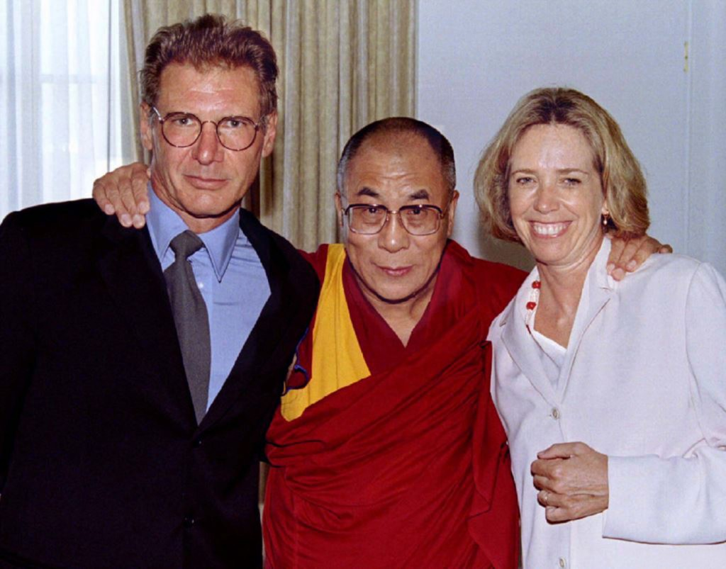 Harrison Ford, the Dalai Lama and Melissa Mathison